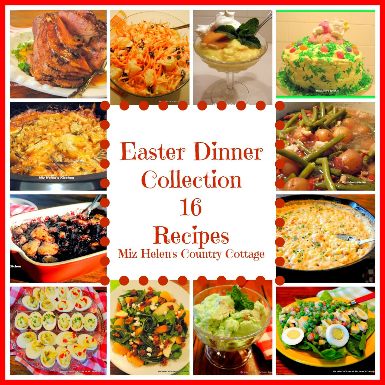 Easter Dinner Recipe Collection - recipes easter dinner