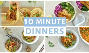 EASY 11 Minute Dinner Recipes | Healthy Dinner Ideas – Recipes And Ideas For Dinner