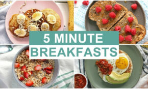 EASY 13 Minute Breakfast Recipes | Healthy Breakfast Ideas