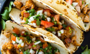 Easy 13 Minute Chicken Tacos – Recipes Using Corn Tortillas Healthy