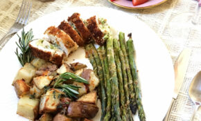 Easy 15 Course Stuffed Chicken Breast Dinner – Date Night Dinner Recipes