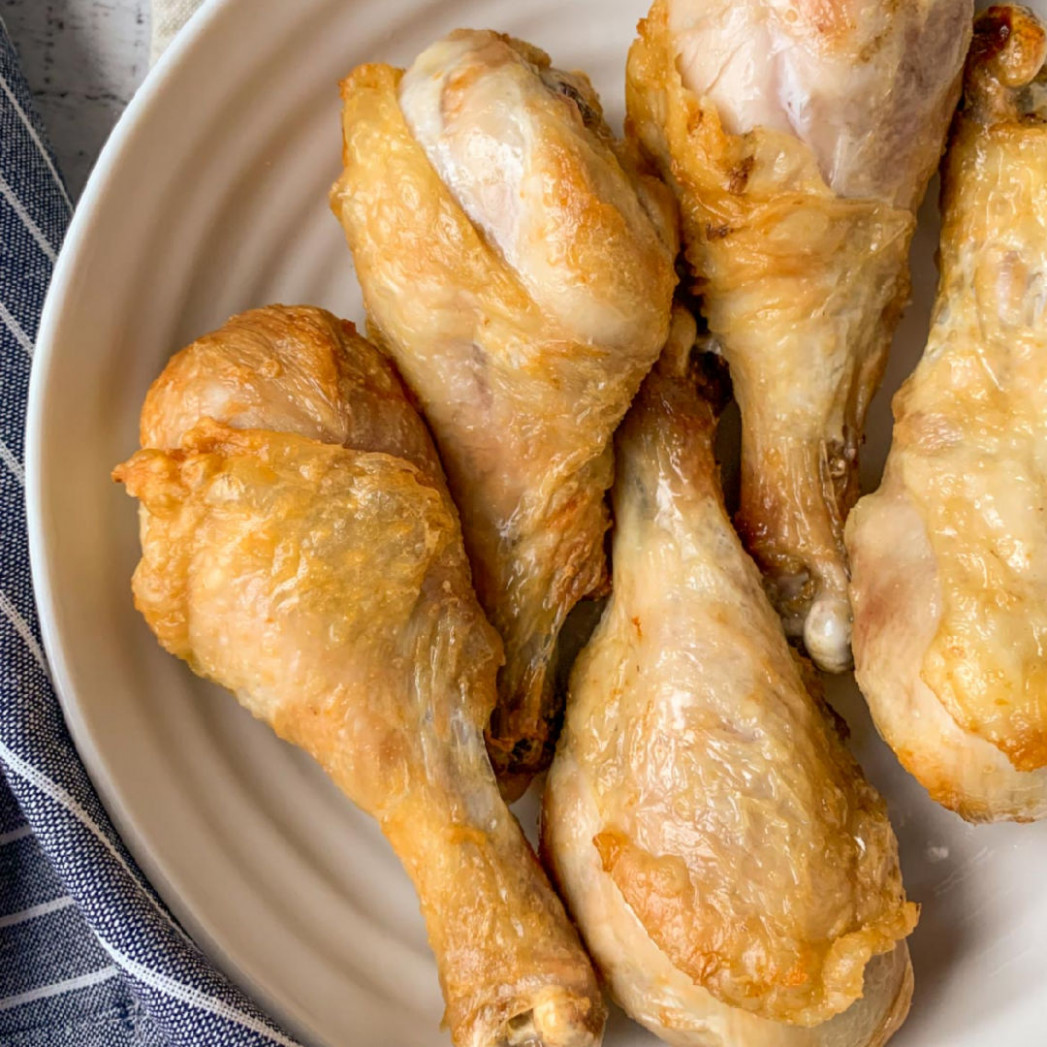 Easy Air Fryer Chicken Legs Recipe (Gluten-Free & Keto) - recipes air fryer chicken