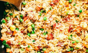 Easy Bacon Fried Rice – Dinner Recipes Using Bacon