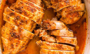 EASY Baked Chicken Breast - iFOODreal - Healthy Family Recipes