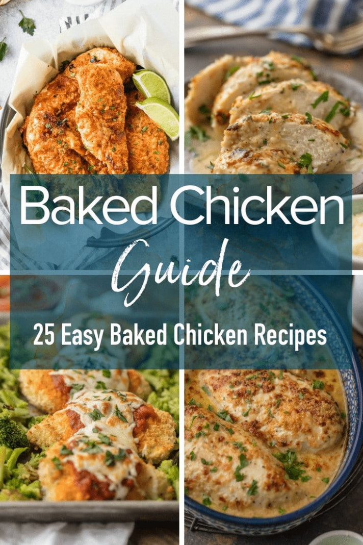 Easy Baked Chicken Breast Recipe - Food Recipes Easy