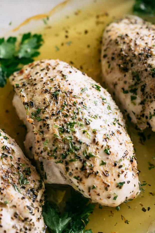 Easy Baked Chicken Breasts Recipe - Diethood - quick chicken breast recipes