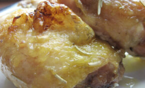 Easy Baked Chicken Thighs 01 – Chicken Recipes Easy Oven