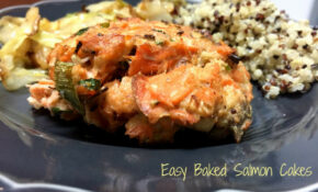 Easy Baked Salmon Cakes – Seafood Recipes Dinner