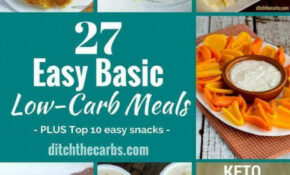 Easy Basic Low Carb Meals – The Easy Way To Stay Low Carb ..