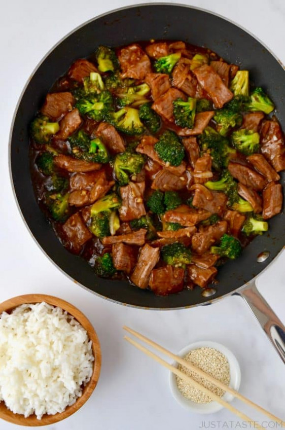 Easy Beef and Broccoli | Just a Taste - recipes easy to make for dinner