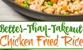 Easy Better Than Takeout Chicken Fried Rice | Recipe ..