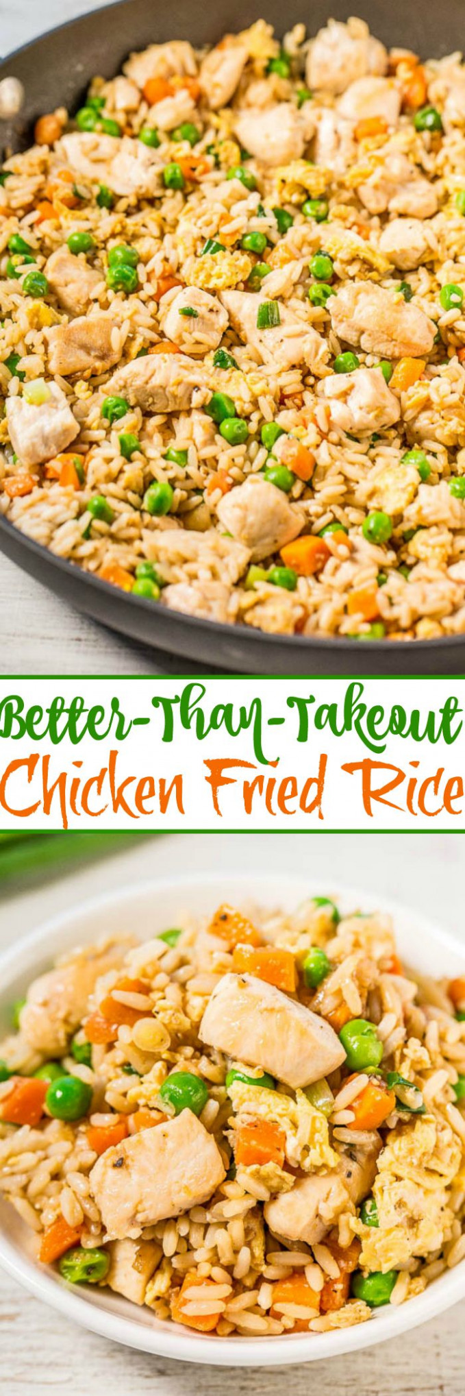 Easy Better-Than-Takeout Chicken Fried Rice | Recipe ..