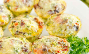 Easy Breakfast Egg Muffins | Delicious Meets Healthy – Recipes Delicious Healthy Breakfast