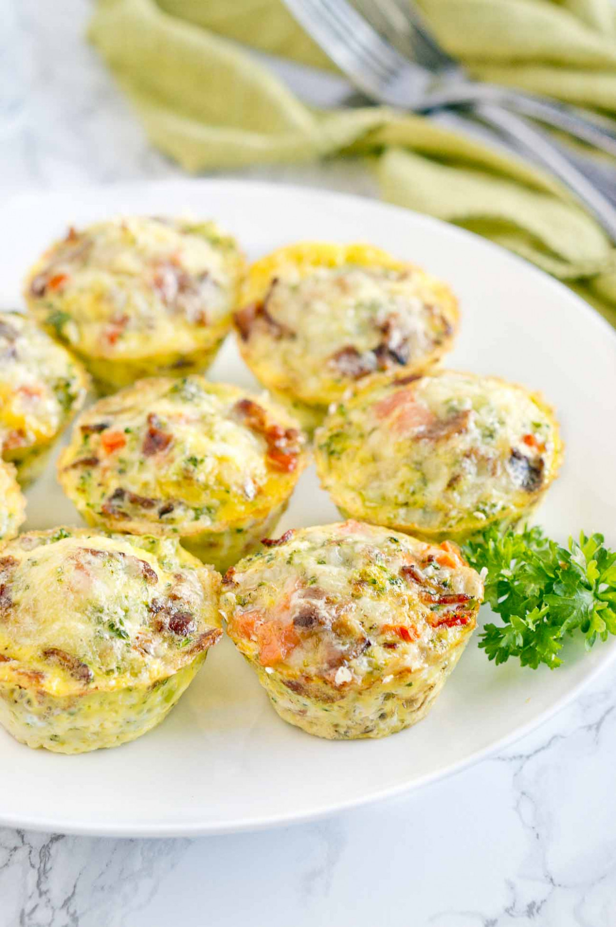 Easy Breakfast Egg Muffins | Delicious Meets Healthy - recipes delicious healthy breakfast