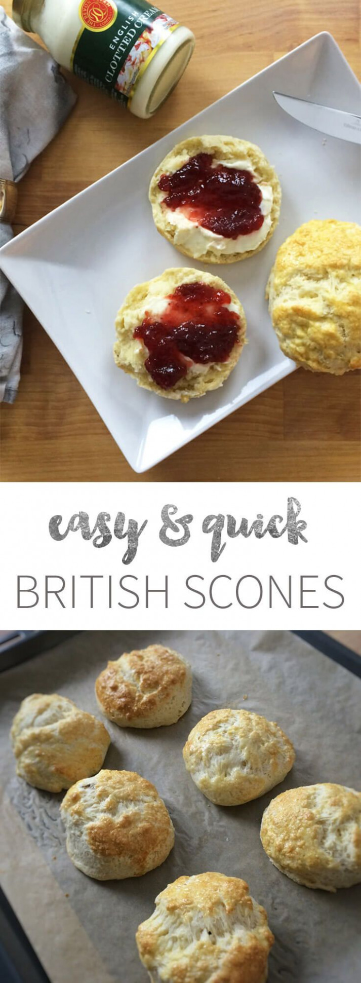 Easy British Afternoon-Tea Scones - perfect for ..