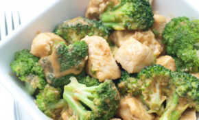 Easy Broccoli And Chicken With Peanut Sauce – Healthy Chicken Recipes