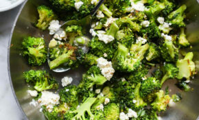 Easy Broccoli With Feta Cheese – Feta Cheese Recipes Vegetarian