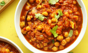 Easy Chana Masala – Recipe Vegetarian Indian Curry