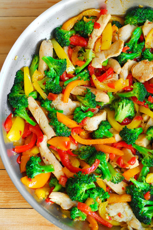 Easy Chicken and Vegetables Stir Fry - What's In The Pan? - chicken with vegetables recipes easy