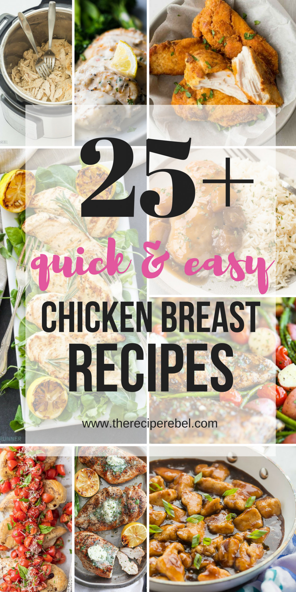 Easy Chicken Breast Recipes - The Recipe Rebel (quick And ..