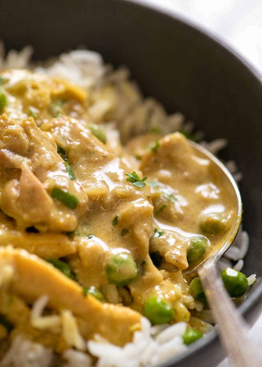 Easy Chicken Curry - curry recipes chicken