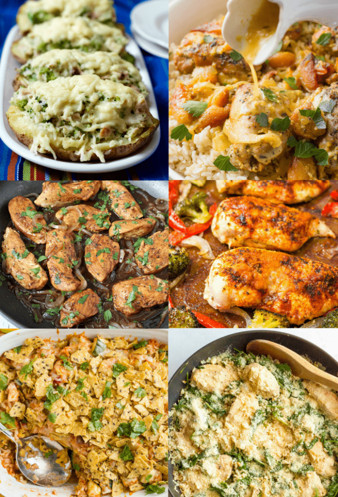 Easy Chicken Dinner Recipes Archives - Family Food on the ..