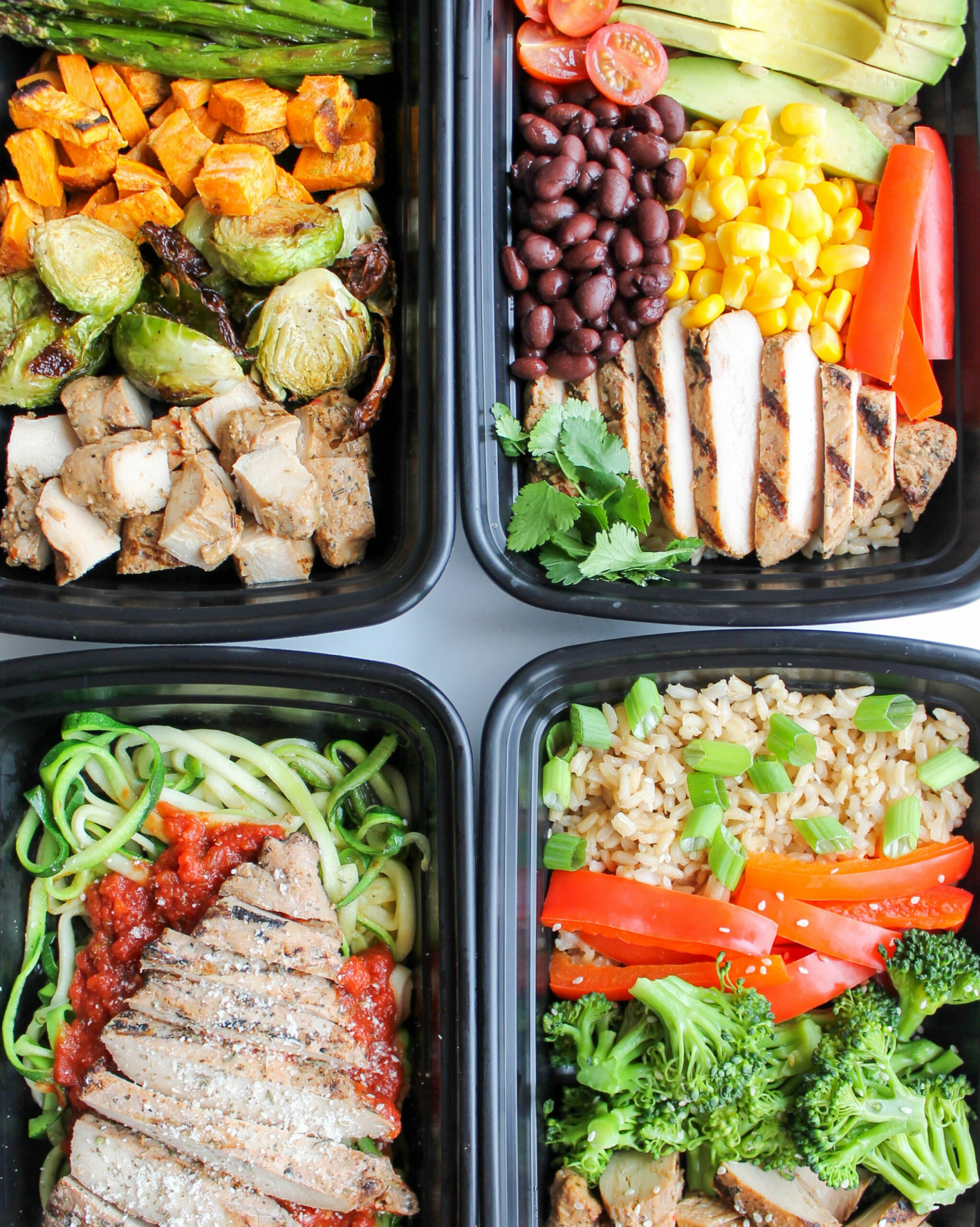 Easy Chicken Meal Prep Bowls: 14 Ways - Smile Sandwich - meal prep recipes chicken breast