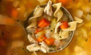 Easy Chicken Noodle Soup From A Leftover Roasted Chicken – Healthy Egg Noodle Recipes