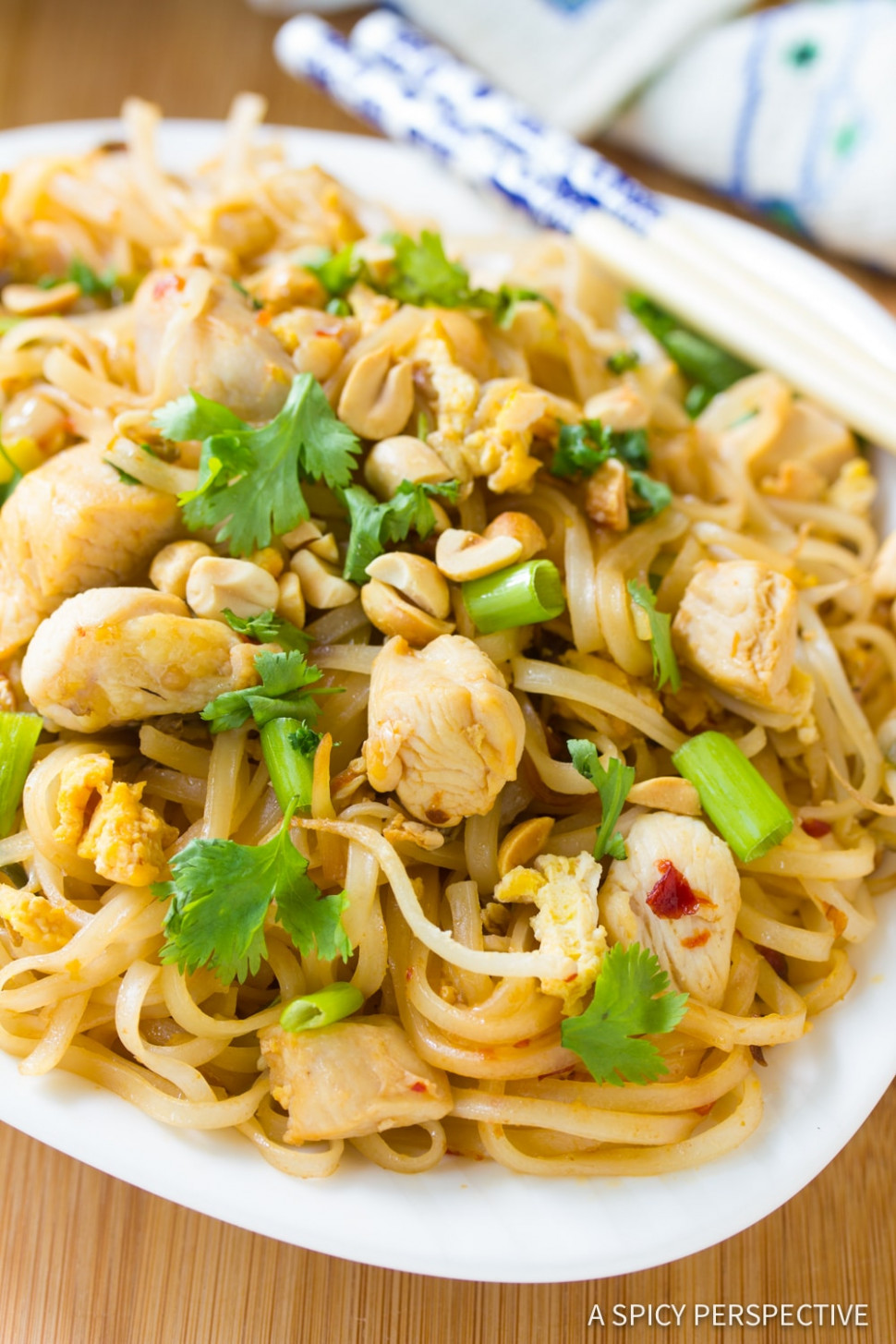 Easy Chicken Pad Thai Recipe - thai recipes chicken