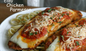 Easy Chicken Parmesan Recipe | Pocket Change Gourmet
