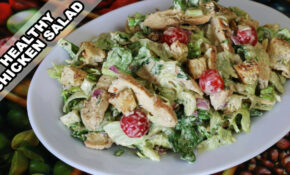 Easy Chicken Salad Recipe | Quick And Healthy Home Made ..