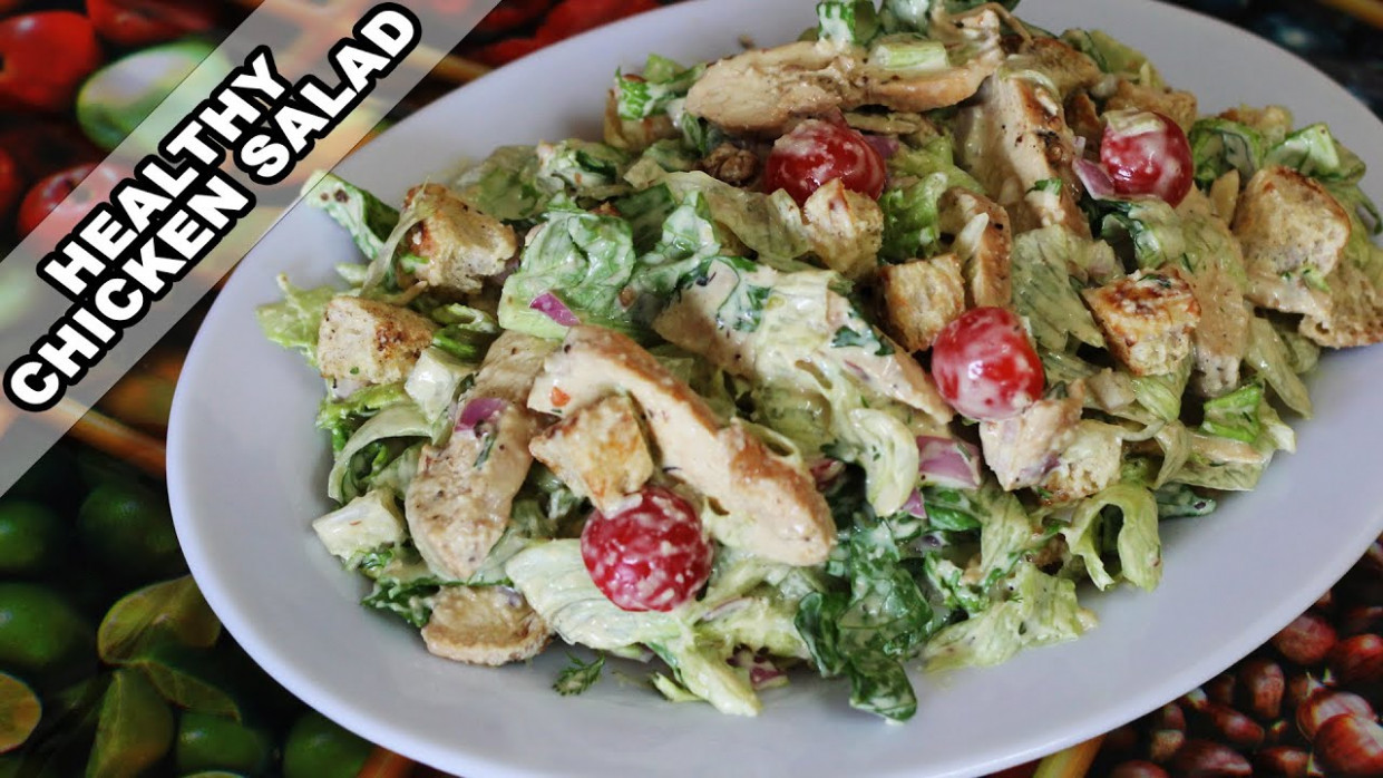 Easy Chicken Salad Recipe | Quick and Healthy Home-made ..