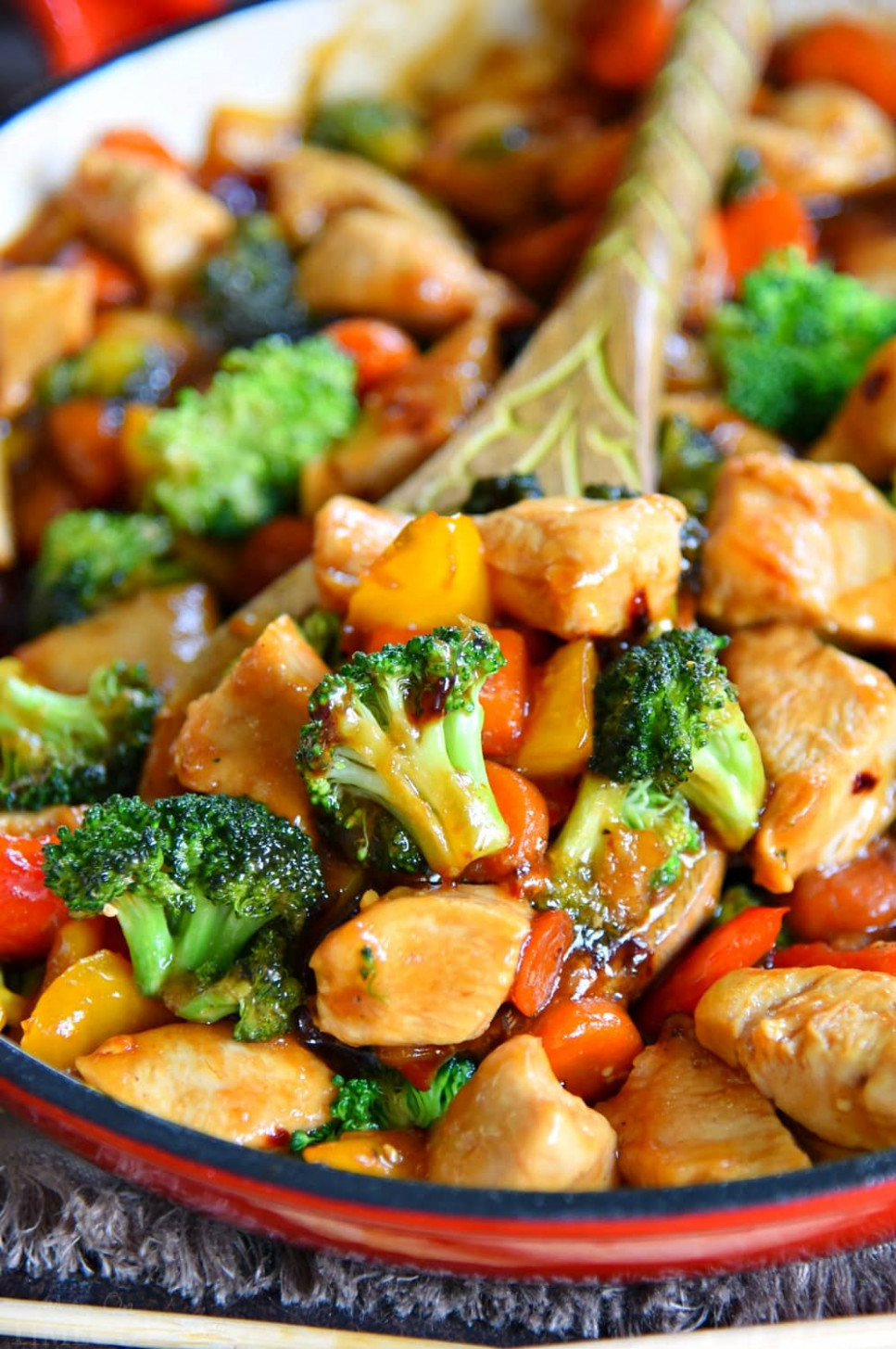 Easy Chicken Stir Fry Recipe - Mom On Timeout - outward food recipes