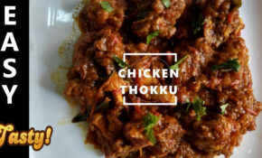 Easy Chicken Thokku Recipe In Tamil – YouTube – Chicken Recipes Youtube In Tamil