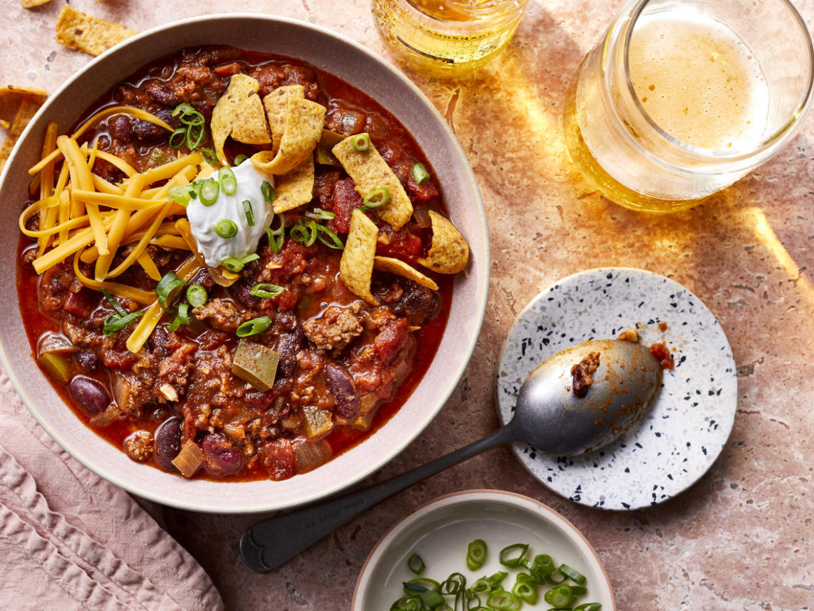 Easy Chili - food network recipes dinner