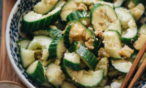 Easy Chinese Cucumber Salad (拍黄瓜) – Easy Chinese Food Recipes