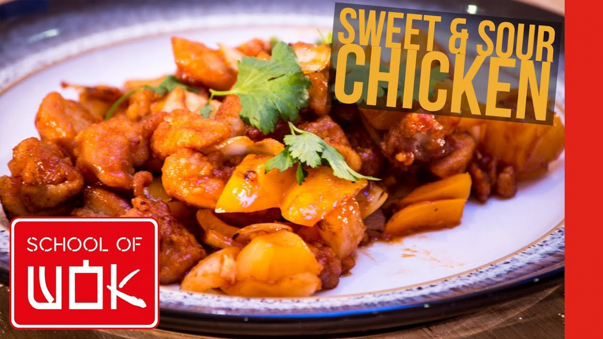 Easy Chinese Sweet And Sour Chicken Recipe! | Wok Wednesdays - Easy Chinese Recipes Chicken