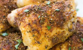 Easy Crispy Baked Chicken Thighs – Recipes Baked Chicken