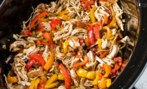 Easy Crockpot Chicken Fajitas – Isabel Eats – Easy Crock Pot Recipes Chicken