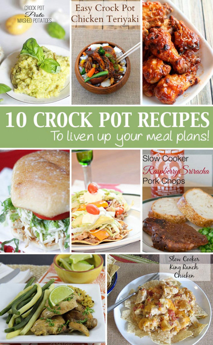 Easy Crockpot Meals - Good Food And Family Fun - Healthy Easy Crockpot Recipes