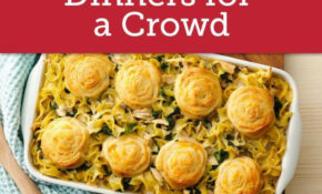 Easy Crowd Size Dinners | Cooking For A Crowd, Meals, Food ..