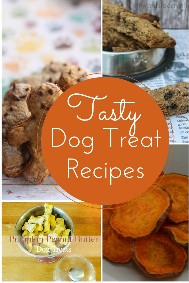 Easy & Delicious Homemade Dog Treat Recipes - recipes to make hypoallergenic dog food