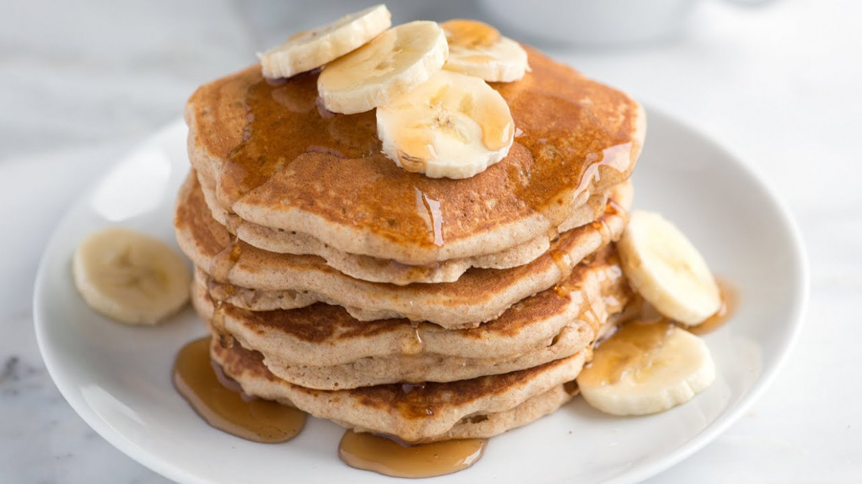 Easy, Delicious Whole Wheat Pancakes - Recipes Pancakes Healthy
