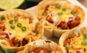 Easy Dinner Recipes: 30 Minute Taco Cups – Happiness Is ..