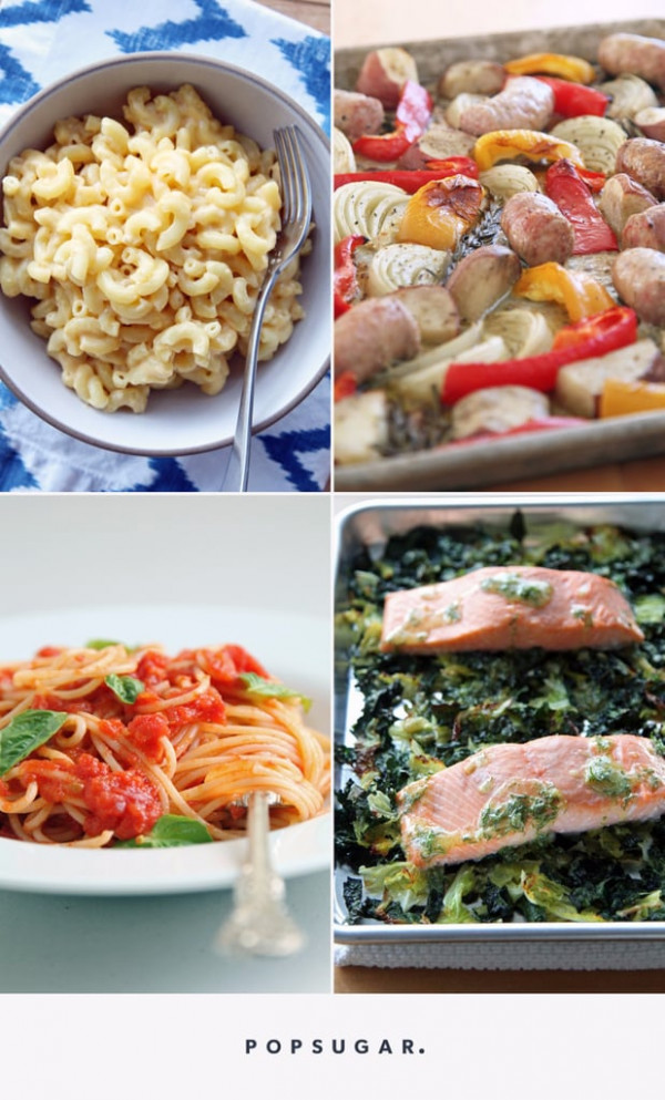 Easy Dinner Recipes For Beginners | POPSUGAR Food - recipes for dinner easy