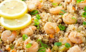 Easy Dirty Rice With Shrimp | Delicious Meets Healthy – Healthy Recipes Rice