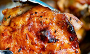Easy Glazed Honey Balsamic Chicken – Chicken Recipes Honey