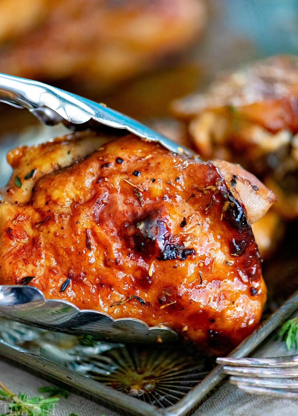 Easy Glazed Honey Balsamic Chicken - chicken recipes honey