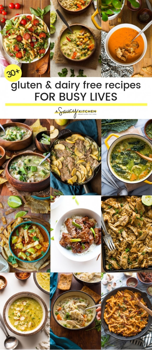 Easy Gluten And Dairy Free Recipes For Busy Lives - A Saucy ..