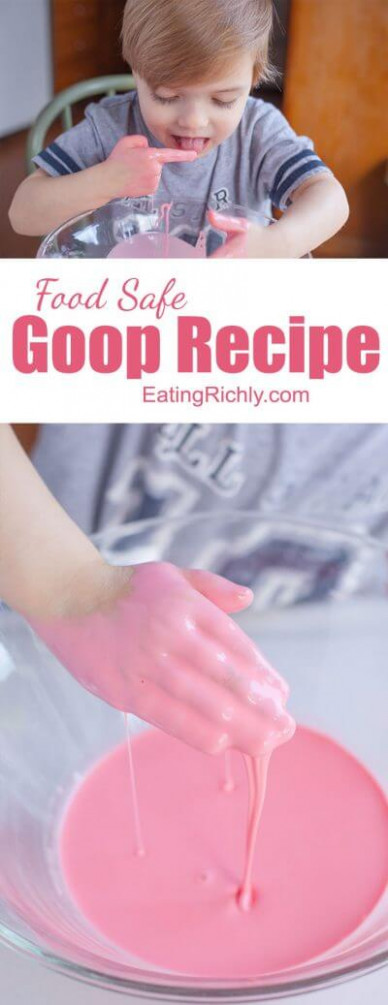 Easy Goop Recipe That's Safe for Kids - Eating Richly - healthy recipes goop